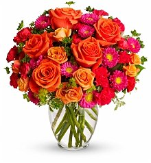 Flower Bouquets: Desktop Dazzler Bouquet