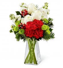 Flower Bouquets: Christmas Peace Bouquet
