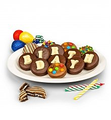 -Dropship: Gifts: Birthday Chocolate Covered Oreo® Cookies
