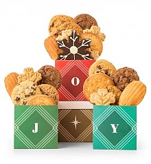 Gift Towers: Holiday Joy Cookie Trio