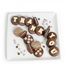 Desserts Confections Gifts: Chocolate Covered Thank You Oreo® Cookies