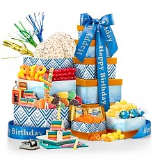 Gift Towers: Birthday Bliss Gourmet Gift Tower