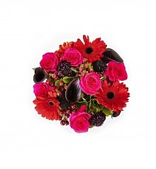 Flower Bouquets: Red Passion