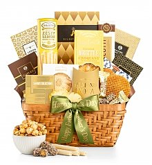 Gourmet Gift Baskets: Dad's Heart of Gold