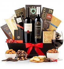 Wine Baskets: The Finer Things Gift Basket