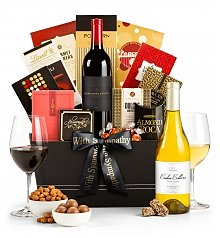 Wine Baskets: Royal Bereavement Wine Basket