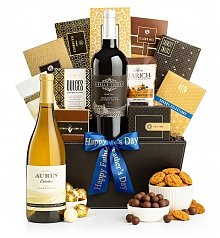 Wine Baskets: California Classic Wine Basket for Dad